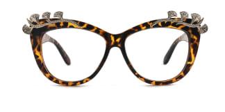 1057 Margery Cateye tortoiseshell glasses
