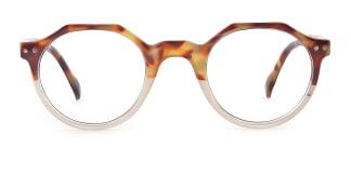 12471 Holly Geometric tortoiseshell glasses