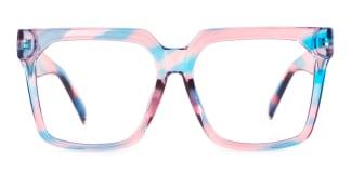 1254 Reagan Rectangle multicolor glasses