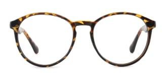 1538 Iantha Round tortoiseshell glasses