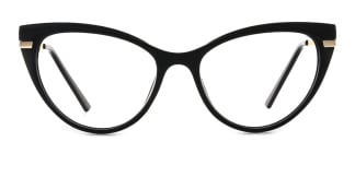 15404 Birdie Cateye black glasses