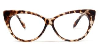 1544 Daryl Cateye tortoiseshell glasses