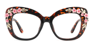 1565 Tropic Cateye tortoiseshell glasses