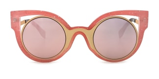 1655 Cally Cateye pink glasses