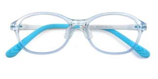 17651 Ella Oval blue glasses