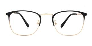18008 Josaphat Rectangle black glasses
