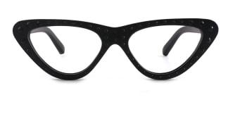 18514 Jewel Cateye black glasses