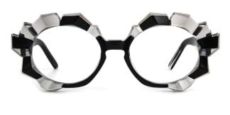 19097 Annetta  black glasses