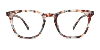 195116 Atalanta Rectangle floral glasses