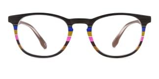 195134 ishara Oval brown glasses