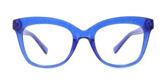 2017 Taliesin Rectangle blue glasses