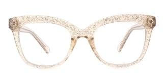 2017 Taliesin Rectangle brown glasses