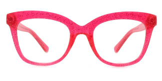 2017 Taliesin Rectangle red glasses