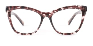 20213 Trish Cateye tortoiseshell glasses