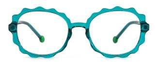 20261 Aislin  green glasses