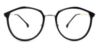 2029 Larissa Geometric black glasses