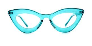 2034 Kalika Cateye green glasses