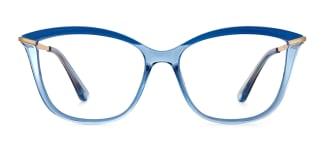 2036 Angelo Cateye blue glasses