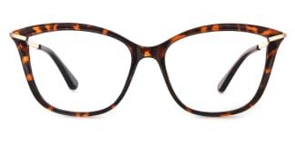 2036 Angelo Cateye tortoiseshell glasses