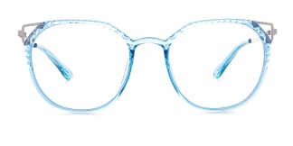 2054 Amory Cateye blue glasses