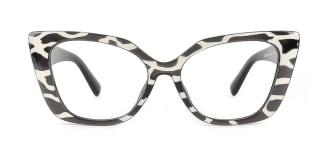 2059 Xanthia Cateye tortoiseshell glasses