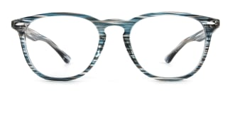 20591 An Oval blue glasses