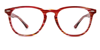 20591 An Oval red glasses