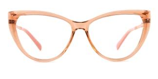 2062 Amarante Cateye brown glasses