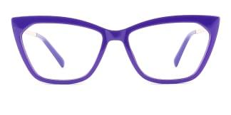 2064 hellen Cateye purple glasses