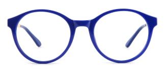 2066 Amir Round blue glasses