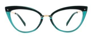 20701 Arden Cateye green glasses