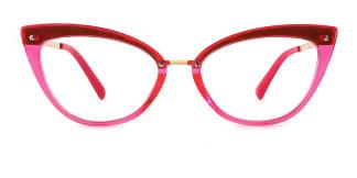 20701 Arden Cateye pink glasses