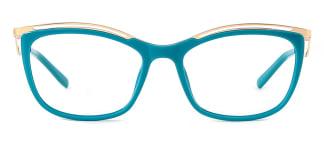 2071 Amaya Cateye green glasses