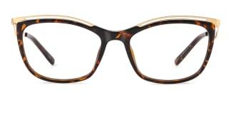 2071 Amaya Cateye tortoiseshell glasses