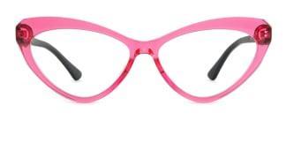 20751 Antoine Cateye pink glasses