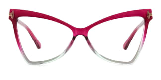 2077 Arleen Butterfly purple glasses