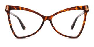 2077 Arleen Butterfly tortoiseshell glasses