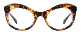 2080 jill Cateye tortoiseshell glasses