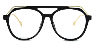 2151 Annabal Aviator black glasses