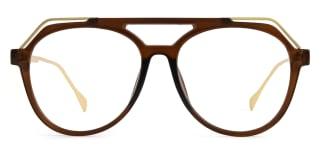 2151 Annabal Aviator brown glasses