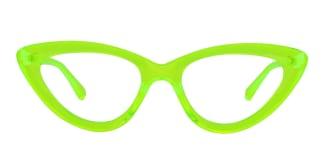 22211 Adara Cateye green glasses