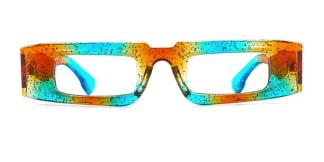 22351 Dara Rectangle multicolor glasses