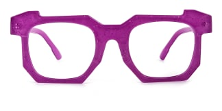 2236-1 Eve Geometric purple glasses