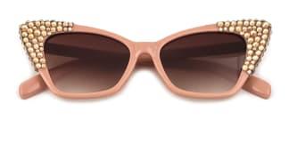 244 Charla Cateye pink glasses