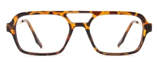 25413 kelly Aviator tortoiseshell glasses