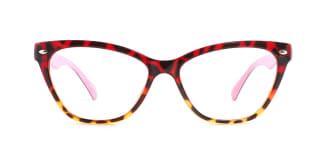 283625 Oslo Cateye multicolor glasses