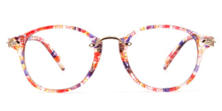2908 Brittany Oval pink glasses