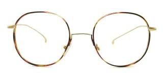 3319 Arabela Round tortoiseshell glasses
