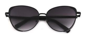 3445 Nacia Cateye black glasses