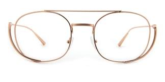 42471 Girdie Aviator gold glasses